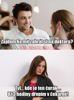 Zahrajeme si na doktora?