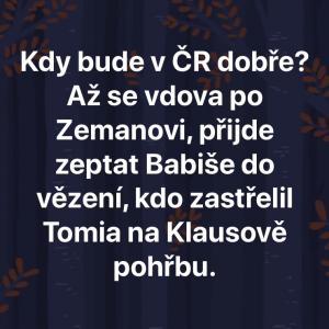 Kdy bude v ČR dobře?