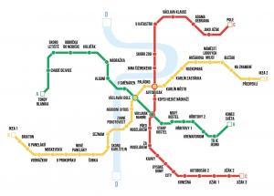 Nové názvy stanic metra