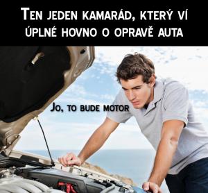 Když se snaží amatér opravit auto