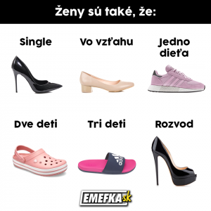 6 typů žen podle bot