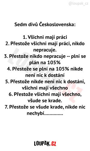 Sedm divů Československa