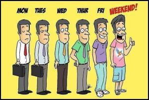 Nálada během týdne