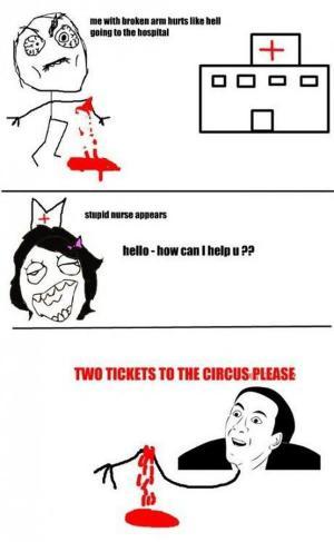 dva listky do cirkusu