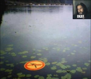 Nesmí se chodit po vodě