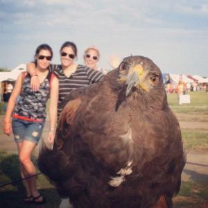 Foto s ptákem