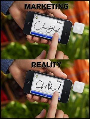 Marketing vs. realita