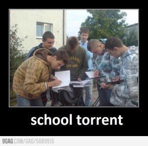 Školní torrent