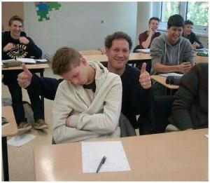 Student s učitelem
