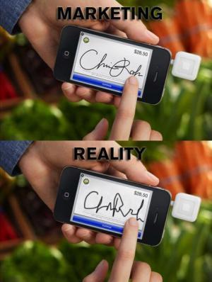 Reklama vs. realita