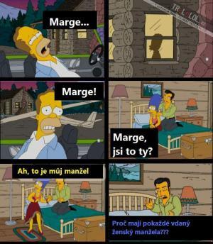 Marge, jsi to ty? Odpověz!