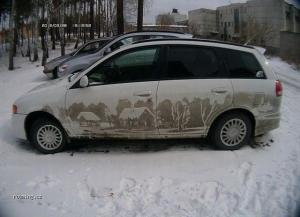 Malování na auto