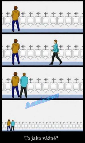Mužská toaleta