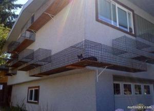 Výběh pro kočky
