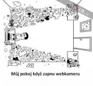 Pohled webkamery