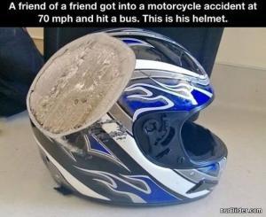 Helma po nehodě