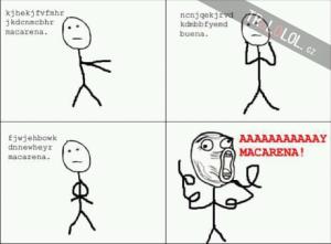Macarena!!!