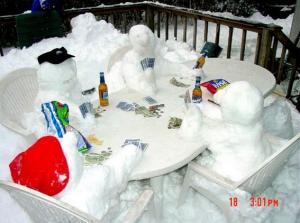 Sněhuláci karbaníci