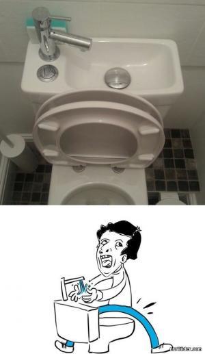 Kutil na záchodě