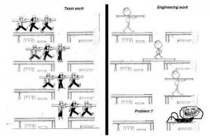 engineer vs team