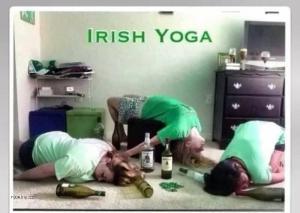 Irská joga