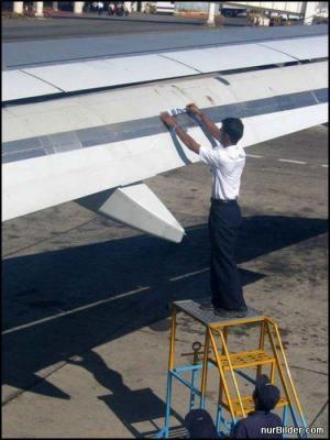 Oprava letadla