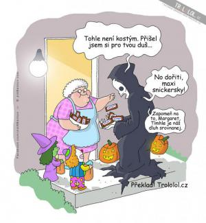 Smrtka a Halloween