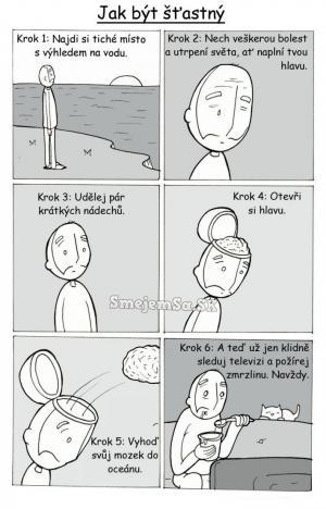Jak být šťastným