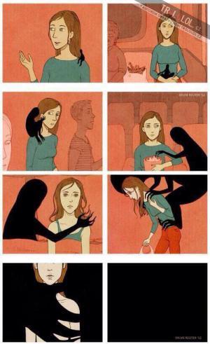 Nenechte depresi, aby vás pohltila