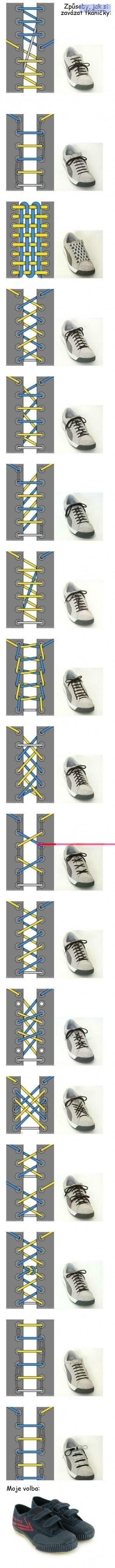 Originální tkaničky