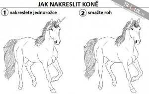 Jak nakreslit koně
