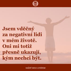 Negativní