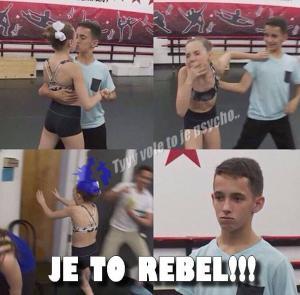 Je to rebel!