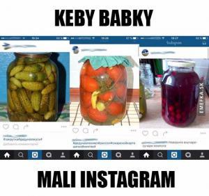 Kdyby babičky měly instagram