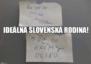 Slovenská rodina
