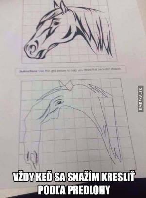 Kreslení podle předlohy
