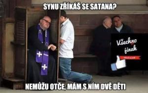 Zříkáš se satana