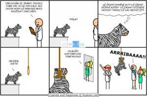 Krutý svět pro psa