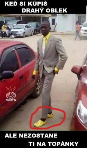 Když si koupíš drahý oblek