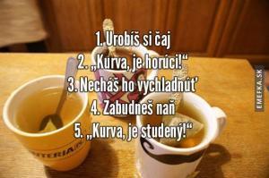 Jak je to s čajem