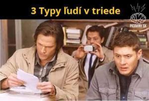 3 typy lidí ve třídě