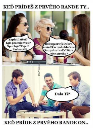 První rande