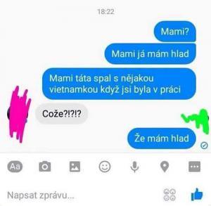 Mám hlad mami