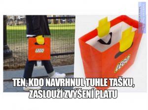 Lego taška! Brali byste ji?