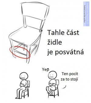 Posvátná stolice