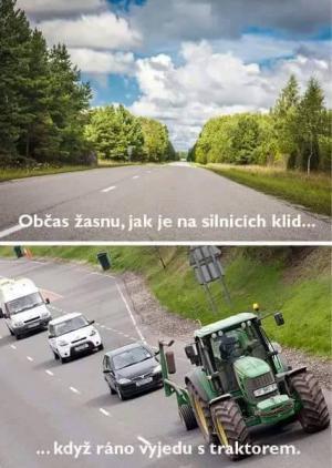 Klid na silnicích