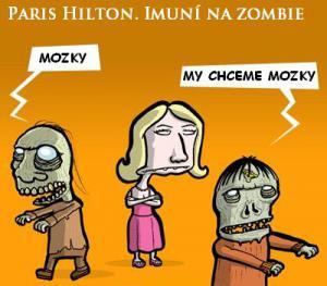 Paris a Zombie