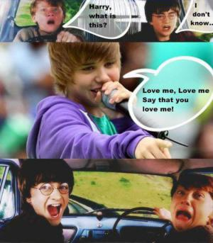 Harry vs. Bieber