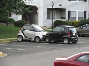 Dvojité parkování