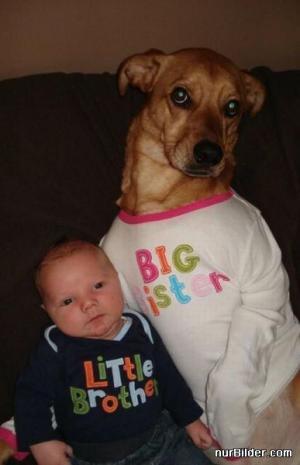 Malý bratr a velká sestra